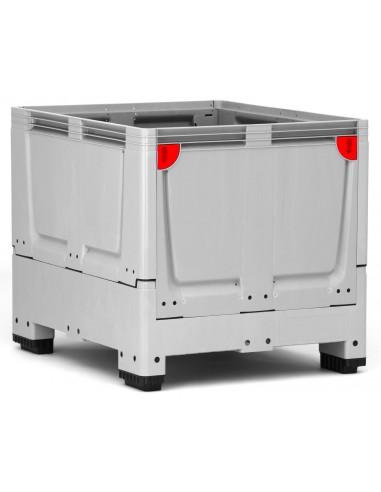 1000 x 1200 x 1000 mm, Großbox klappbar mit 4 Füßen