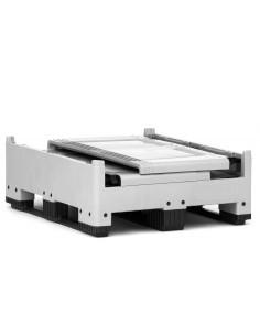1000 x 1200 x 1000 mm, Großbox klappbar mit 3 Kufen