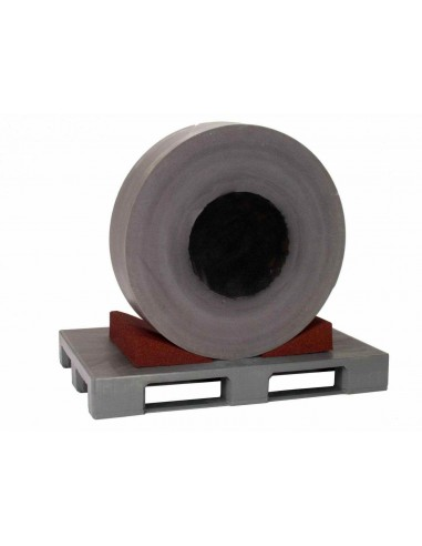 500 x 300 x 110 mm, Schwerlastkeil aus Polyurethan-Kautschuk
