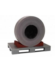1000 x 300 x 110 mm, Schwerlastkeil aus Polyurethan-Kautschuk