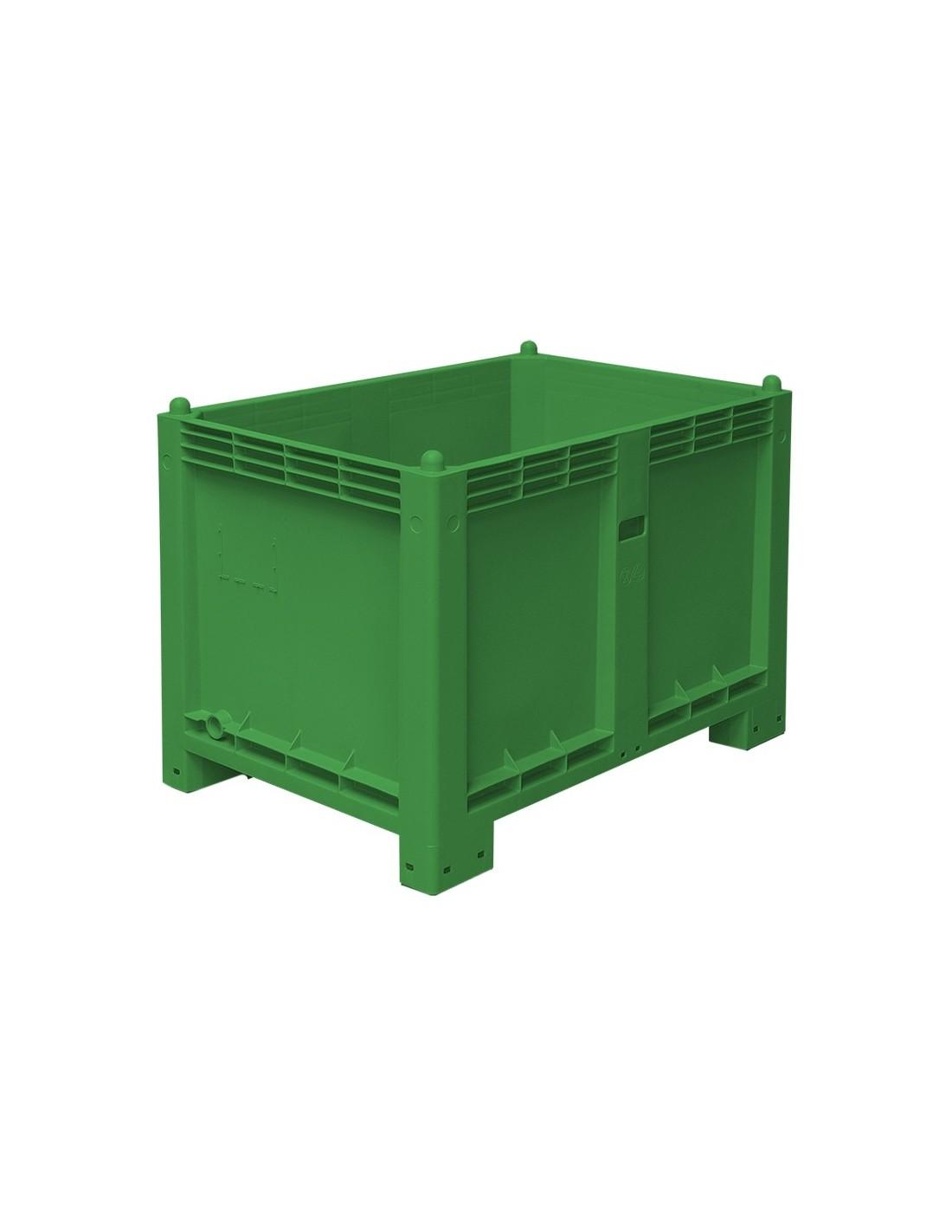 800 x 1200 mm Großbox mit Füßen flüssigkeitsdicht