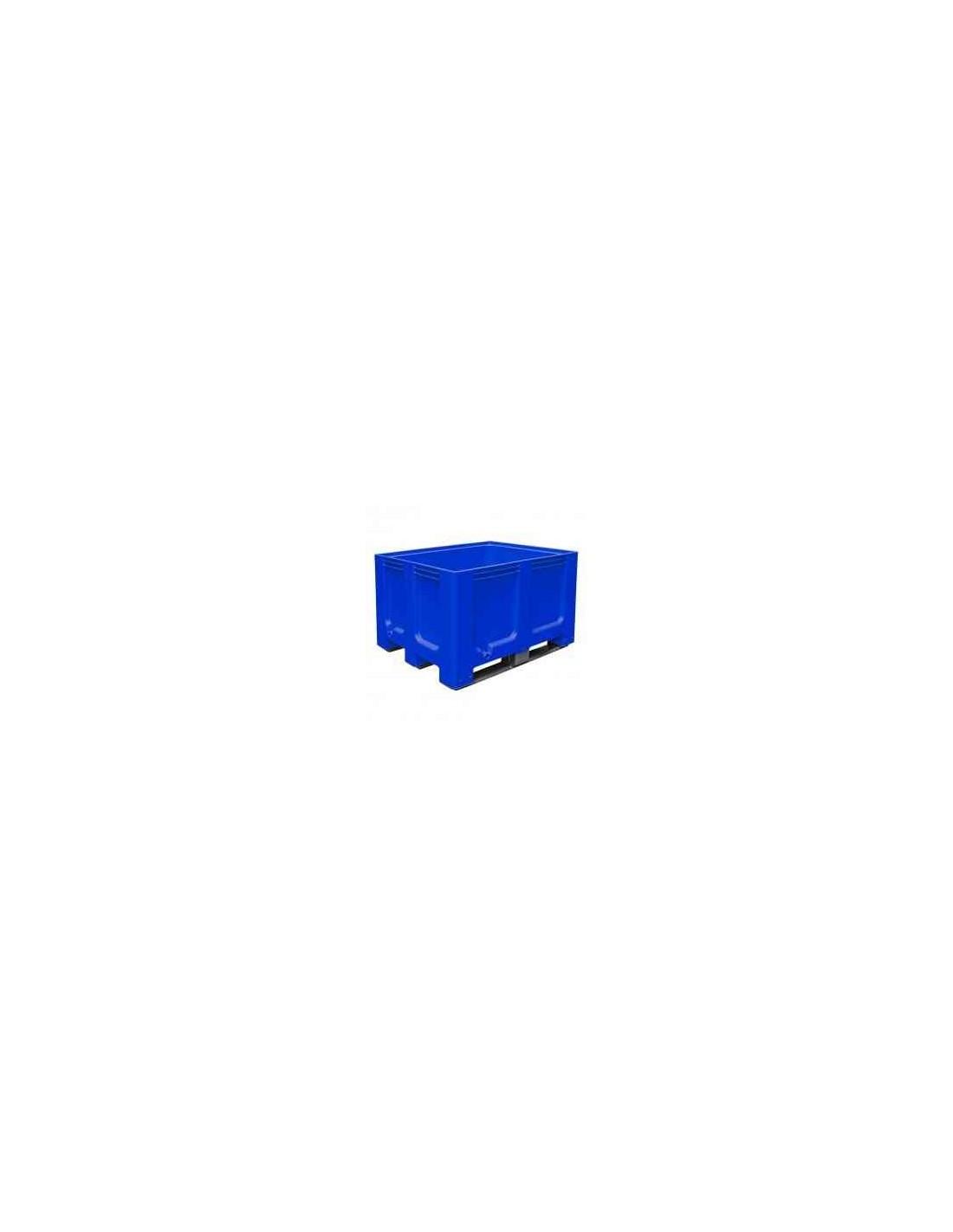 1000 x 1200 mm Großbox mit Kufen flüssigkeitsdicht