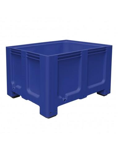 1000 x 1200 mm, Großbox mit Füßen, flüssigkeitsdicht