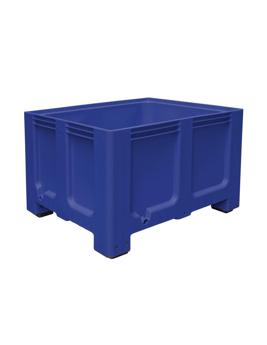 1000 x 1200 mm Großbox mit Füßen flüssigkeitsdicht