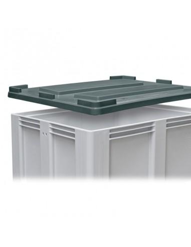 Deckel 1000 x 1200 mm zu Großboxen flüssigkeitsdicht