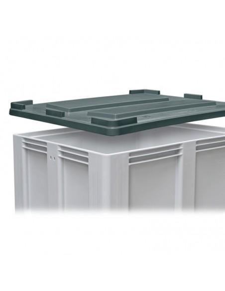 Deckel 1000 x 1200 mm zu Großboxen flüssigkeitsdicht Recycling