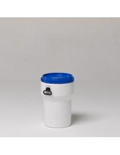 40 Liter, Deckelfass nestbar