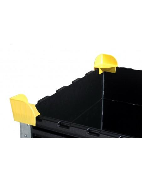 Stapelecken Sicherungsecken für Aufsatzrahmen