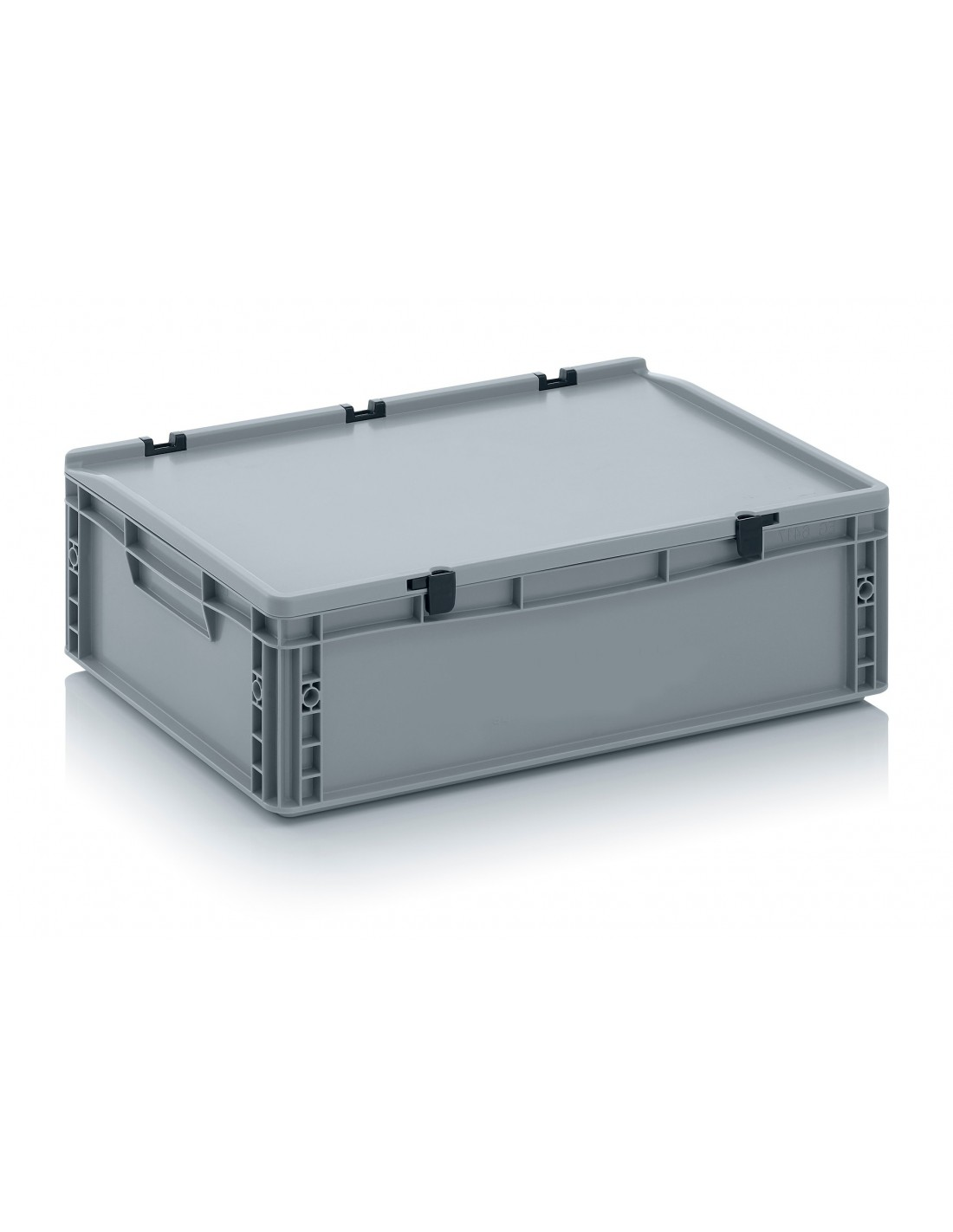 600 x 400 x 170 mm Eurobehälter Scharnierdeckel