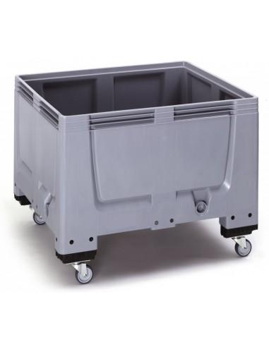 1000 x 1200 x 1000 mm, Großbox mit 4 Rollen