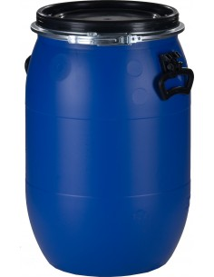 60 Liter, Kunststoffdeckelfass