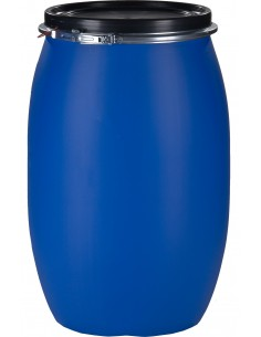 120 Liter, Kunststoffdeckelfass