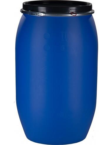 220 Liter Kunststoffdeckelfass