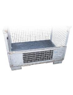 130 Liter, Gitterbox-Einsatzwanne mit Rost