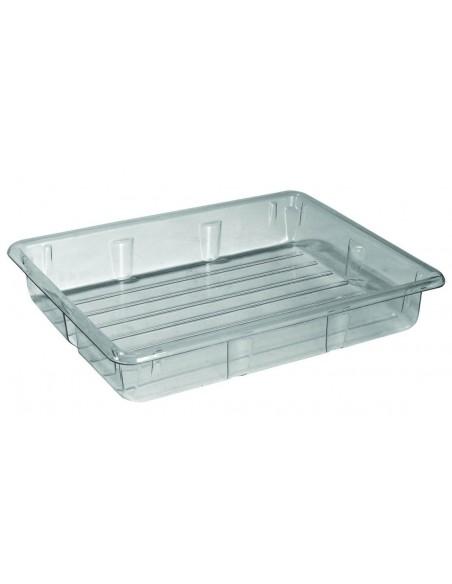 140 Liter Auffangwanne glasklar ohne Rost