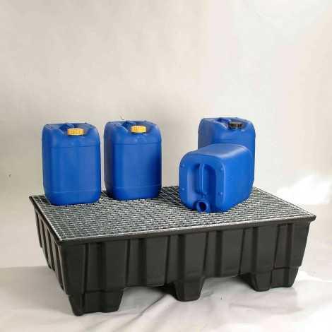 220 Liter, Auffangwanne Kunststoff mit Füßen