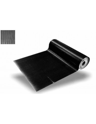 Breite: 1200 mm Stärke: 6 mm Gummi-Leistenmatte