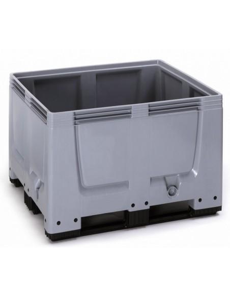 1000 x 1200 x 790 mm Großbox mit 3 Kufen