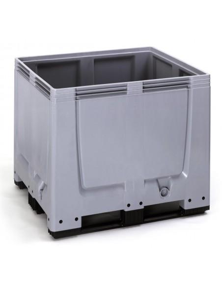 1000 x 1200 x 1000 mm Großbox mit 3 Kufen