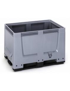 800 x 1200 x 790 mm, Großbox mit 3 Kufen