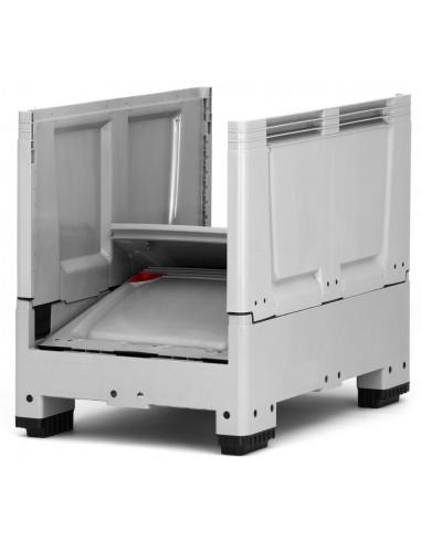 800 x 1200 x 1000 mm, Großbox klappbar 4 Füße