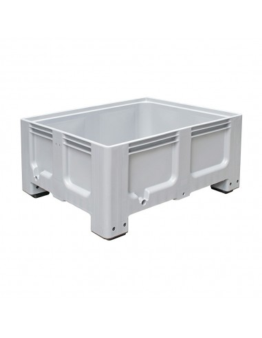 1000 x 1200 x 580 mm, Großbox mit Füßen, flüssigkeitsdicht