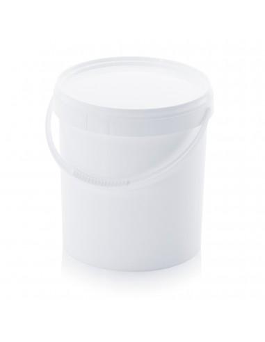 10,8 Liter Kunststoffeimer mit Deckel