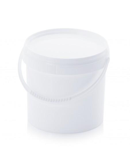 3,8 Liter Kunststoffeimer mit Deckel