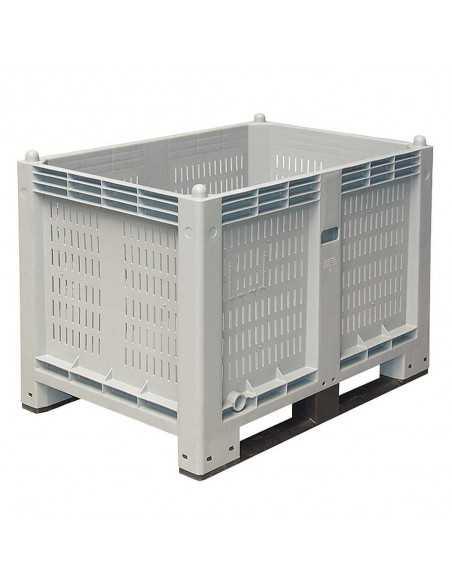Großbox durchbrochen mit 2 Kufen 800 x 1200 mm