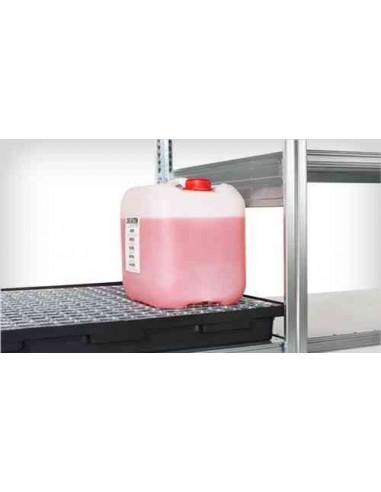 26 Liter, Regal-Auffangwanne mit Rost