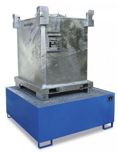 1000 Liter, Auffangbehaelter Stahl