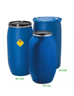 150 Liter Kunststoffdeckelfass