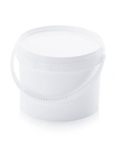 3,2 Liter Kunststoffeimer mit Deckel