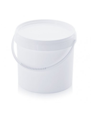 5,6 Liter Kunststoffeimer mit Deckel