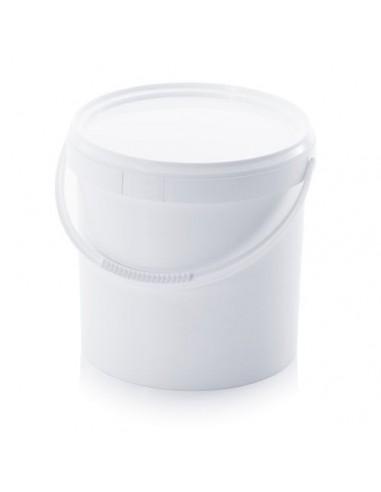 12,8 Liter Kunststoffeimer mit Deckel