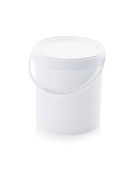 20 Liter Kunststoffeimer mit Deckel