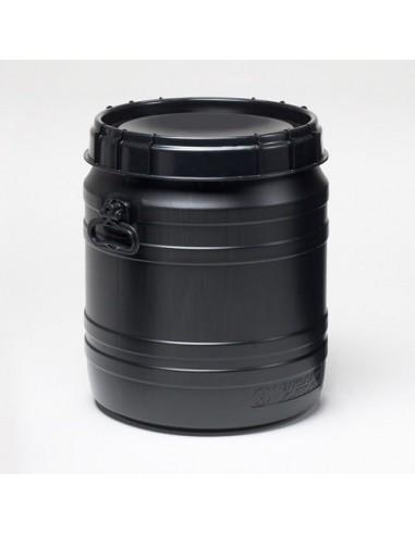 55 Liter Curtec Super Weithalsfass schwarz UV
