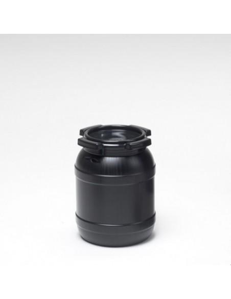 6,4 Liter Curtec Weithalsfass schwarz UV