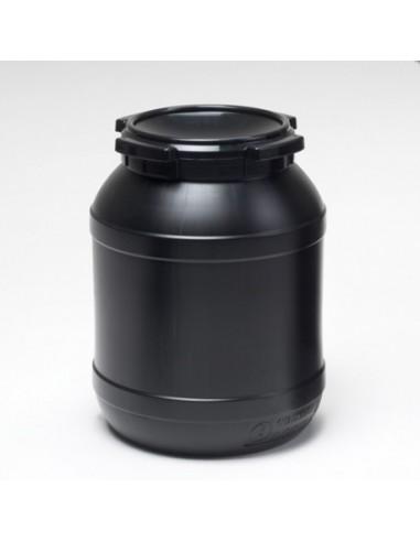 26 Liter Curtec Weithalsfass schwarz UV